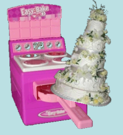 Easy Bake That Wedding Cake!