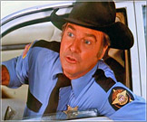Shrews stars James Best who is best known as Sheriff Roscoe P Coltrane