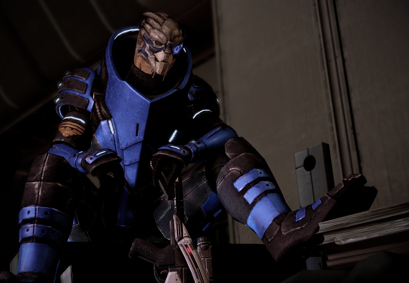Garrus Vakarian: The Perfect Template